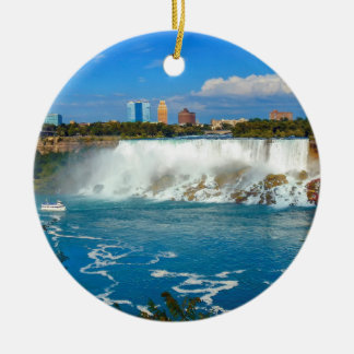 Niagara Falls, Canadá Ornamento De Cerâmica Redondo