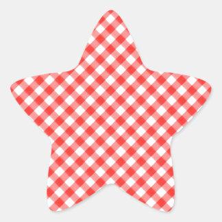 NIC clássico vermelho do PIC do teste padrão do Adesito Estrela