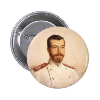 Nicholas II Bóton Redondo 5.08cm