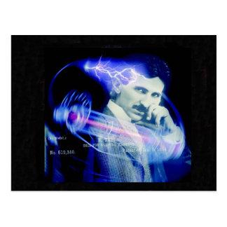 Nicola Tesla Cartão Postal