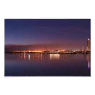 nightscape com veleiros foto artes