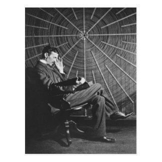 Nikola Tesla, 1896 Cartão Postal