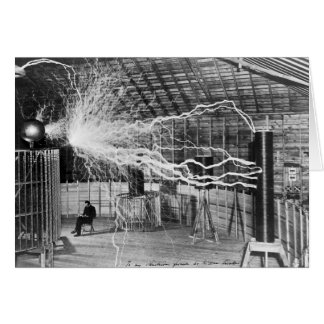 Nikola Tesla, Colorado Springs, 1899 Cartão Comemorativo