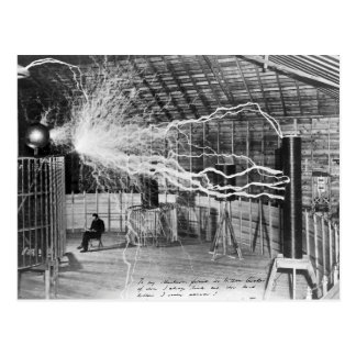 Nikola Tesla, Colorado Springs, 1899 Cartão Postal