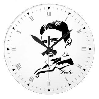 Nikola Tesla Relógio Para Parede