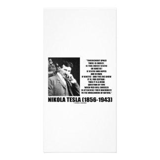 Nikola Tesla Wheelwork da energia cinética da Cartão Com Foto