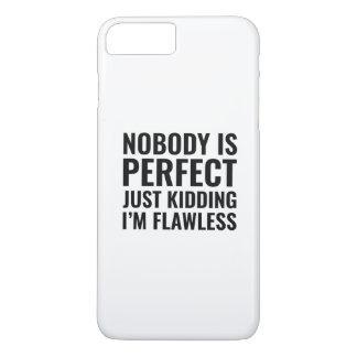 Ninguém é perfeito capa iPhone 8 plus/7 plus