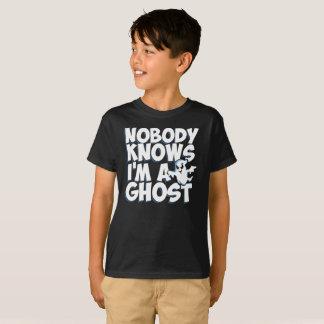 Ninguém sabe que eu sou um fantasma - camisa do
