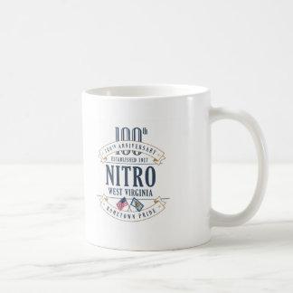 Nitro, caneca do aniversário de West Virginia