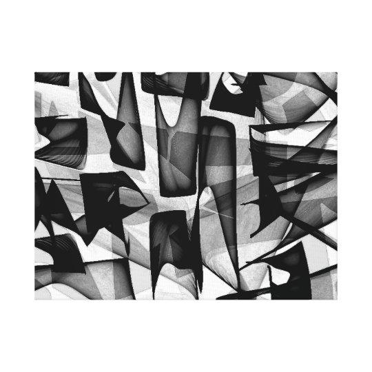 NITRO - impressão abstrato das canvas