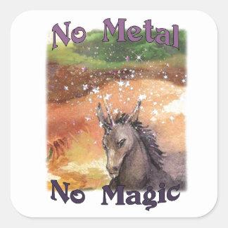 Nix nenhum metal nenhumas etiquetas mágicas