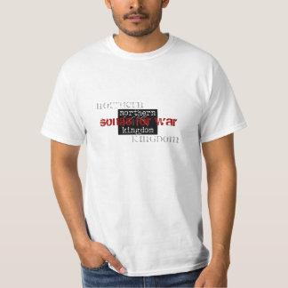 nk, norte, reino, canções para a guerra tshirt