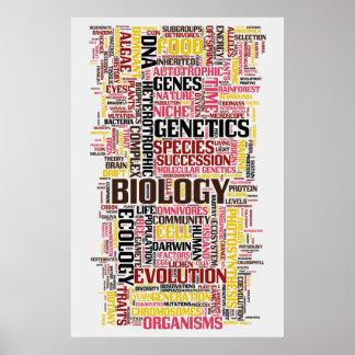 No. 11 de Wordle da biologia Pôster