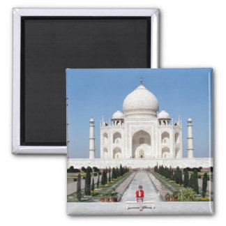 No.123 princesa Diana Taj Mahal 1992 Ímã Quadrado