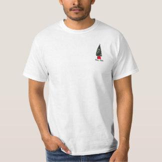 No. 198 árvore de Natal - diferente e individual Camisetas