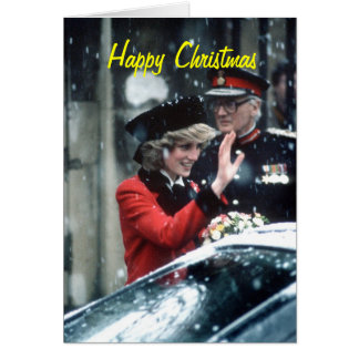 No.73 princesa Diana Cambridge 1985 Cartão Comemorativo