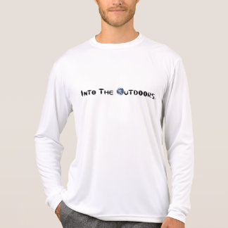 No ar livre - exercício! t-shirts