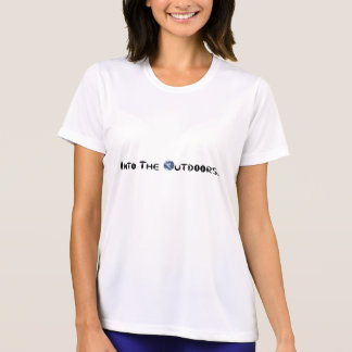 No ar livre t-shirt