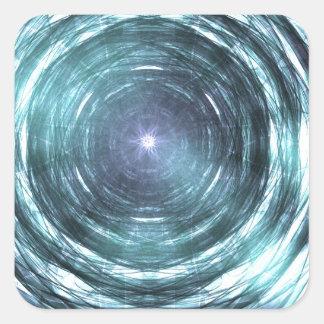 No buraco negro adesivo quadrado