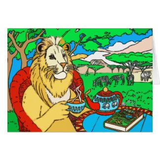 No cartão da selva