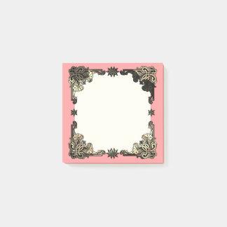 Nó celta boémio floral cor-de-rosa de Boho Post-it Note