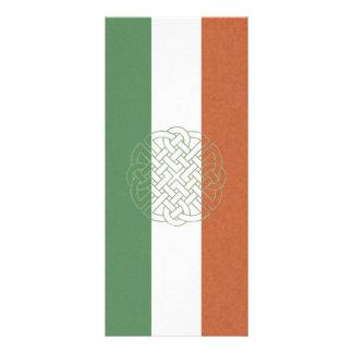 Nó celta irlandês 10.16 x 22.86cm panfleto
