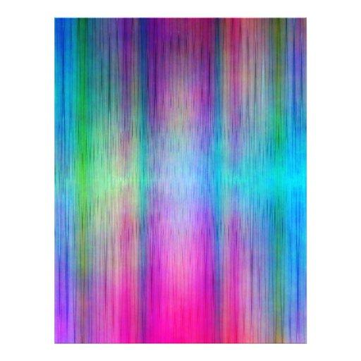 No. colorido 26 do teste padrão projetado por Tutt Papel De Carta Personalizados