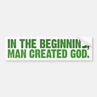 No começo, o homem criou o deus adesivos
