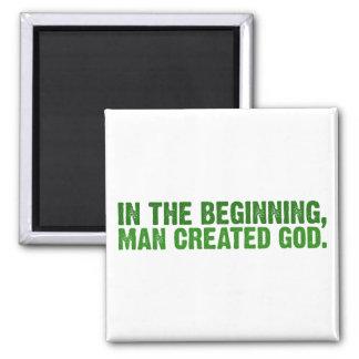 No começo, o homem criou o deus ima