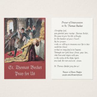 Nó de escota de St Thomas do cartão santamente da
