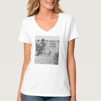 No dogs t-shirts