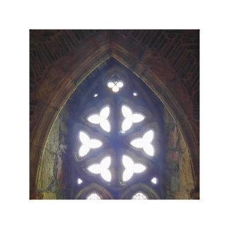 No impressão das canvas da capela