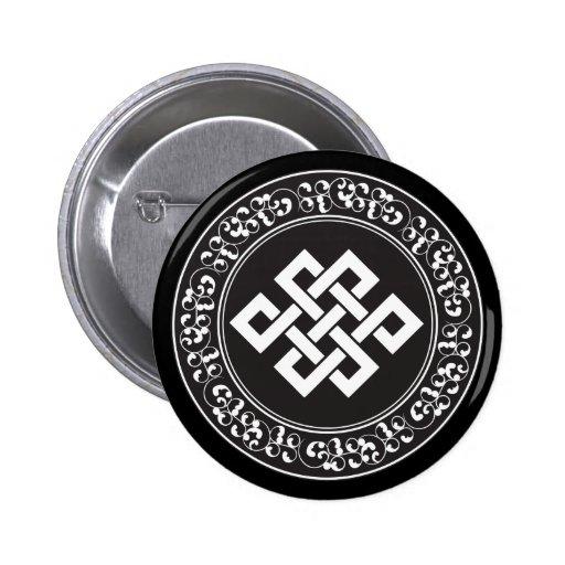 Nó infinito budista boton