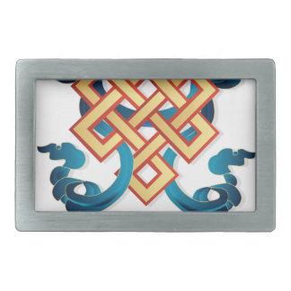 Nó infinito do símbolo da religião do Mongolian