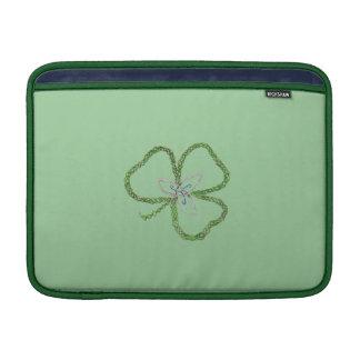 Nó irlandês do trevo bolsas para MacBook air