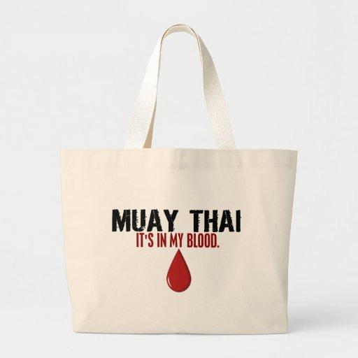 No meu TAILANDÊS de MUAY do sangue Bolsa