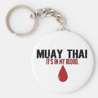 No meu TAILANDÊS de MUAY do sangue Chaveiro
