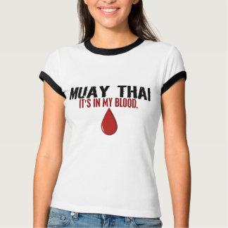 No meu TAILANDÊS de MUAY do sangue Tshirts