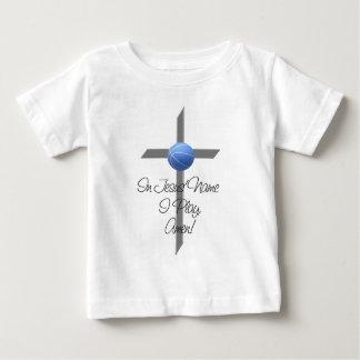 No nome de Jesus eu jogo T-shirts