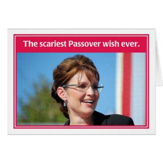 No próximo ano no cartão engraçado do Passover de