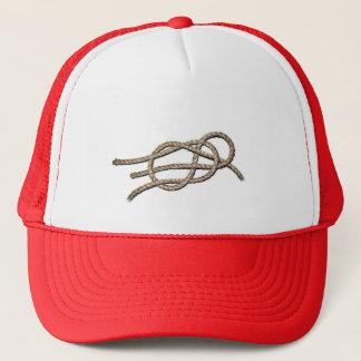 Nó solitário - chapéu do camionista boné