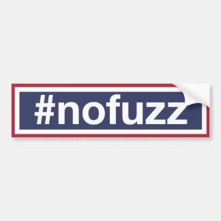 #nofuzz adesivo para carro