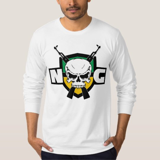 NoG longa Camiseta