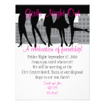 Noite das meninas para fora convites