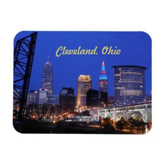 Noite de Cleveland no ímã da cidade