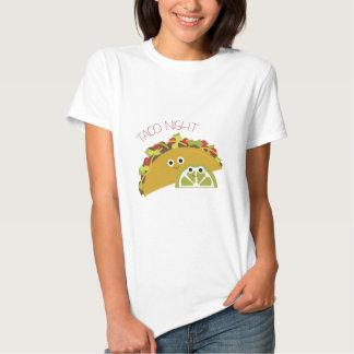 Noite do Taco Camisetas