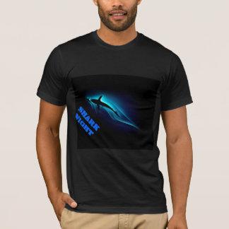 noite do tubarão camiseta