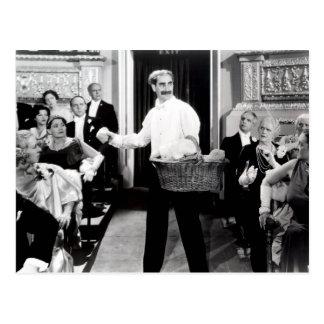 Noite dos irmãos de Groucho Marx no cartão da