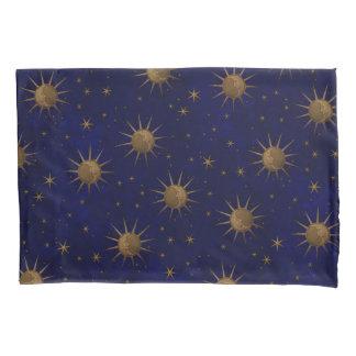 Noite estrelado da lua celestial de Sun