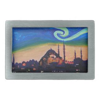 Noite estrelado em Istambul Turquia